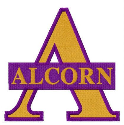Alcorn State Braves And Lady Braves Logo Embroidery Design Embroidery Designs Embroidery Logo Bernina Embroidery Machine