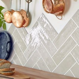 Rustico Xl Grey Wall Tiles 10x30cm In 2020 With Images Tiles Grey Wall Tiles Metro Tiles