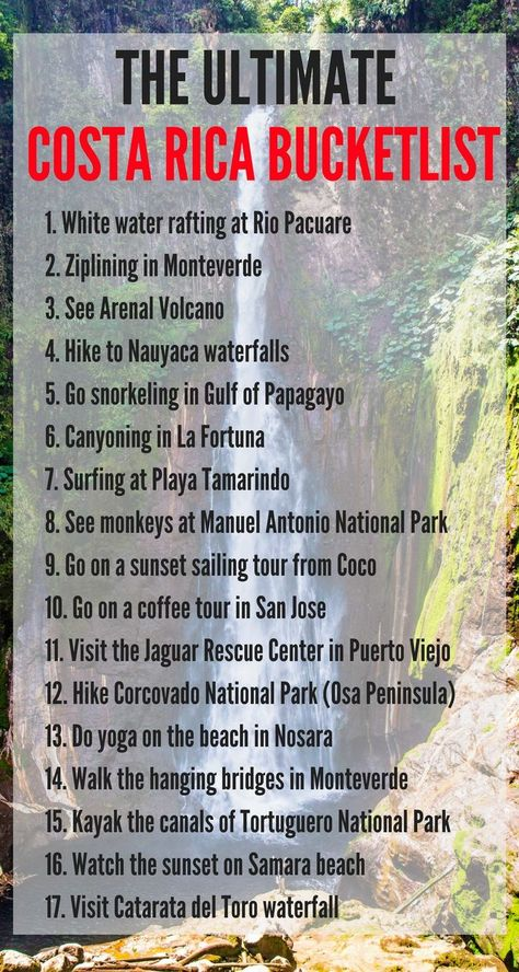 Our ultimate Costa Rica bucket list (50 things to do in Costa Rica every traveler must do….