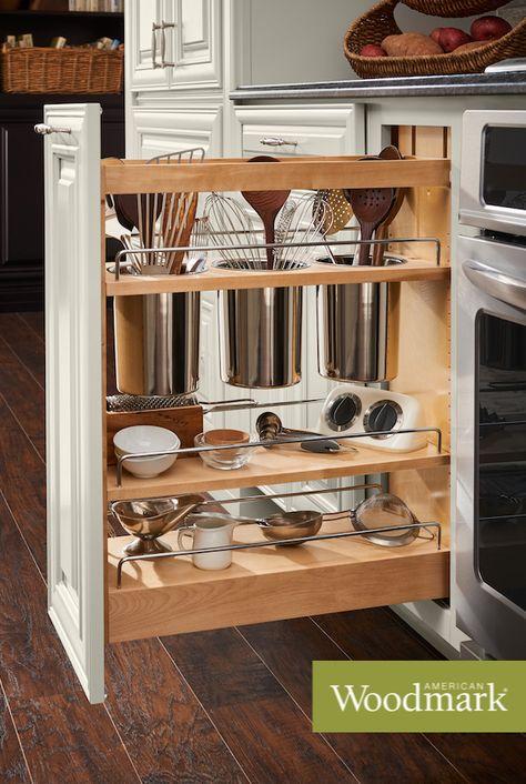 20 American Woodmark Accessories Ideas American Woodmark Cabinets Kitchen Cabinets Storage Organizers Storage Cabinets