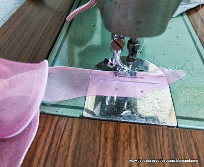 Coser Organza Reglas De Costura Cómo Coser Costura Manualidades