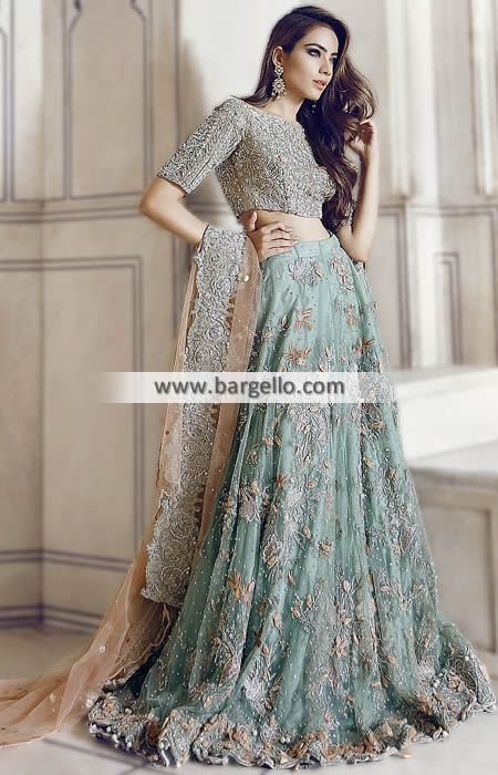 Attractive Bridal Wear for Valima or Reception Get ready to enchant everyone on your wedding in t