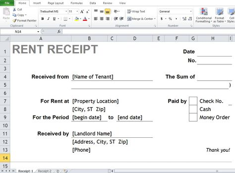 Employee Salary Sheet In Excel Free Download Accounting - cash rent receipt