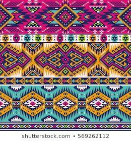 Aztec Images Stock Photos Vectors Shutterstock Abstract Geometric Art Print Geometric Art Prints Seamless Patterns