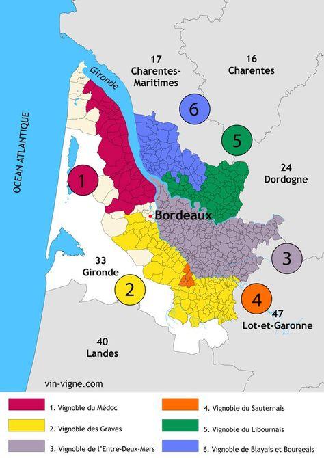 Descriptif Detaille De Toutes Les Grandes Regions Des Vins De