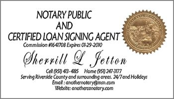 Notary Business Cards 3 Gogetnotary
