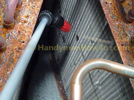 Ac Evaporator Coil Interior Cleaning With Pump Sprayer Sprayers Cleaning Coil