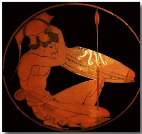 Photo of Ancient Greek pottery decoration 69