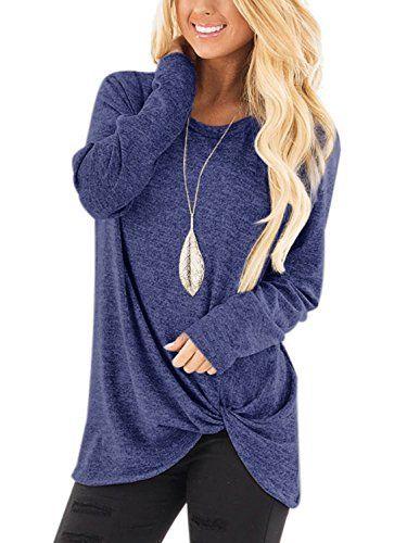 Violet Top Model Filles T-Shirt Manches Longue