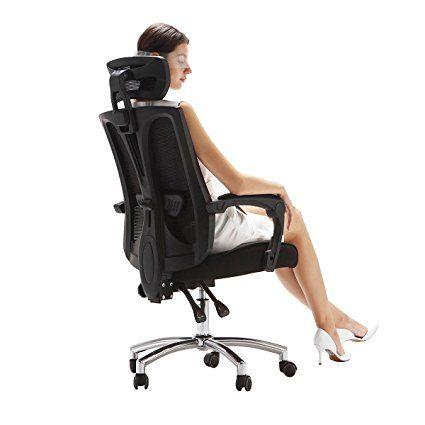 Hbada High Back Perfect Fit Office Chair Ergonomic Chair Black