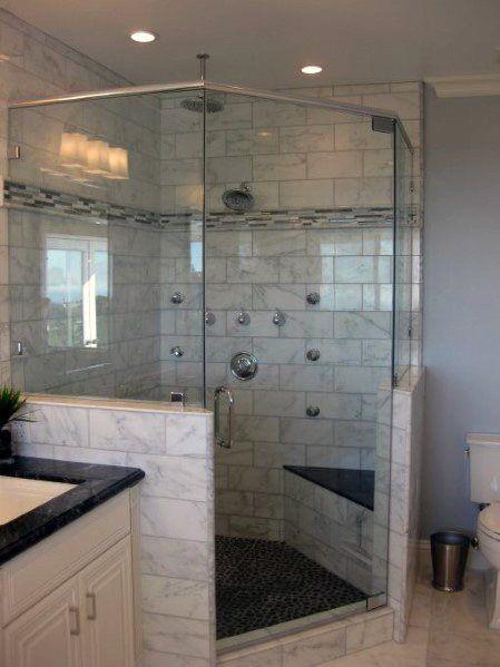 Top 60 Best Corner Shower Ideas Bathroom Interior Designs With