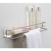 浴室でも使えるシェルフ シェルフ メタルやアクリルの棚 金属 メタル