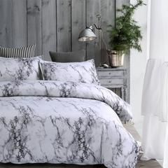 Marble Lines Bedding Set Single Au Eu Double Full Queen King 6 Size Duvet Cover With Pillowcase Set Marble Bed Set Comfortable Bedroom Grey And White Comforter