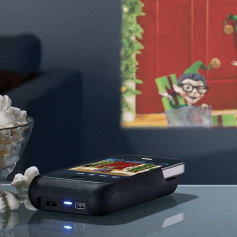 iphone projector $229..this is an article on the product