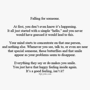 falling for someone unexpectedly quotes - Google Search ...