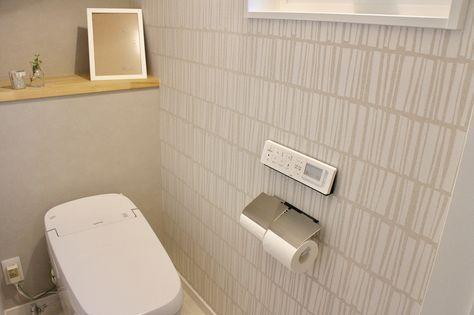 2018 03 08 トイレ 1階トイレ 狭いし 階段下トイレ だけど 大好きな場所です 狭いうえに出てすぐに 手洗い場 があるので うまく全体像が写せない リクシルのサティスg かなり増額だったけど採用して良かったです トイレのアイデア