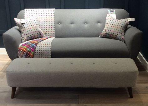 Florence Large Sofa In Heron Stripe Charcoal Http://www.sofaworkshop.com/ Sofa/florence | Westfield Stratford City | Pinterest | Large Sofa