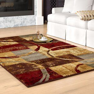 Andover Mills Mclea Abstract Brown Gray Area Rug In 2021 Area Rugs Grey Area Rug Rugs