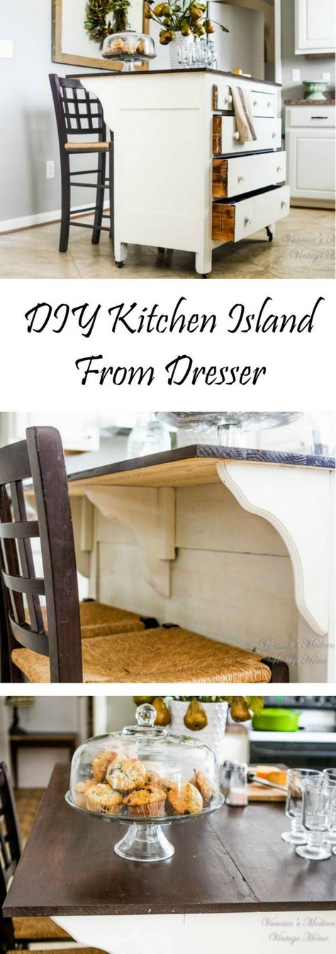DIY Kitchen Island - 25 Easy Ideas That You Can Build on a Budget