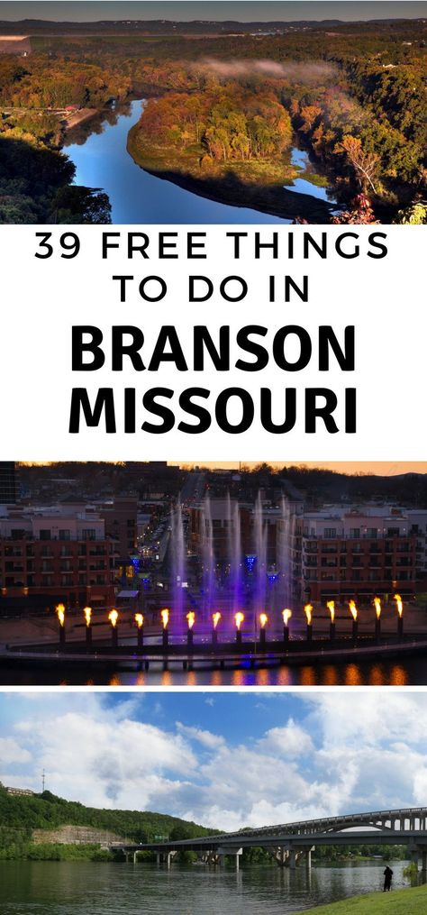 Instead of pumping out hundreds of dollars to pay for things to do, take advantage of all the free things to do in Branson MO. #ourroaminghearts #branson #missouri #freethingstodo #frugaltravel | Frugal Travel | Free Things to do in Branson MO | Branson MO | Missouri Travel | Branson Travel Vacation Places, Vacation Spots, Places To Travel, Places To See, Travel Destinations, Cruise Vacation, Disney Cruise, Greece Vacation, Mexico Vacation