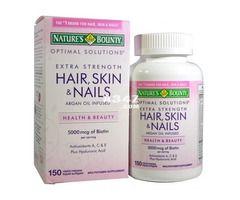 لتطويل الشعر مرحبا بحبوب هير اند سكين اند نيلز Health Beauty Beauty Cosmetics Hair Skin