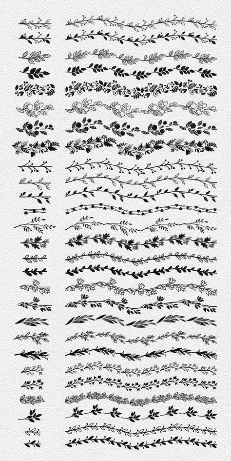 Calligraphy banner/Laurel styles, #bannerLaurel #Calligraphy #Styles #TattooStylecalligraphy