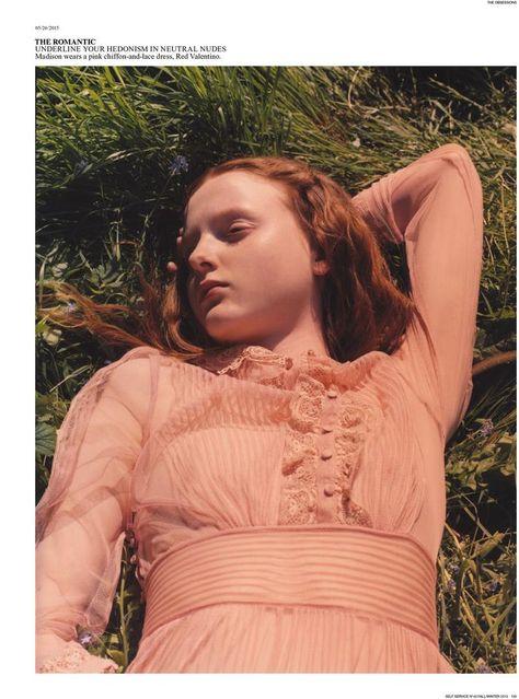 madison stubbington,fernanda ly and aneta pajak by harley weir for self service magazine , fw 2015.