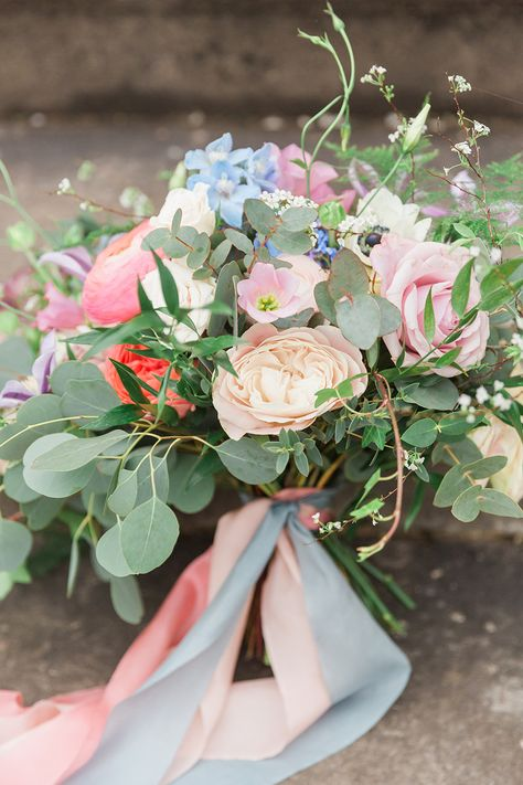 """Country Dreams""""-A Baroque Inspired, modern romantic English Country wedding shoot with soft pinks and powder blues infused with antique gold. Flowers by Flourish and Grace"""