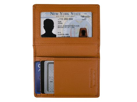 separation shoes 17edc 97a6e Dwellbee Slim Leather Credit Card Wallet (Cowhide Leather) >>> Learn ...