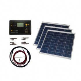 Buy Grape Solar 150 Watt Off Grid Solar Panel Kit Solar Panel Accessories At Samsclub Com Solarpanels In 2020 Solar Power Kits Off Grid Solar Panels Solar Panels