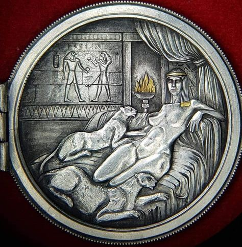 MURSI SILVER OUNCE Congo 1000 Francs Antique Finish Coloured 1 Oz Silver 2014