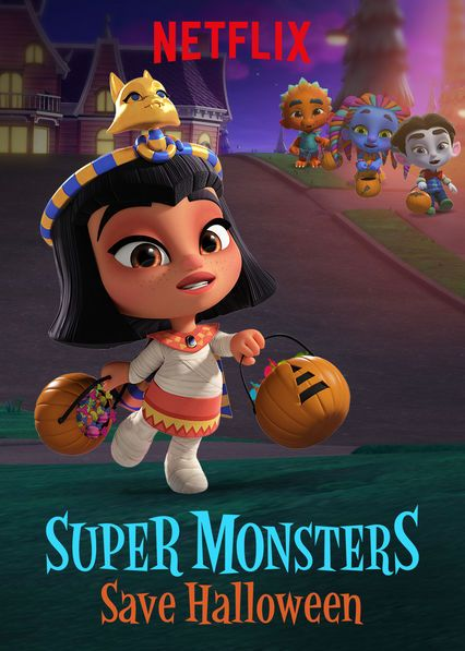 """Super Monsters Save Halloween"" on Netflix"
