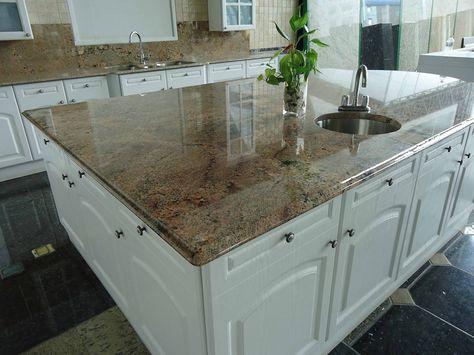 Juparana Fantastico Giallo Granit Arbeitsplatten    wwwgranit - arbeitsplatte küche granit preis