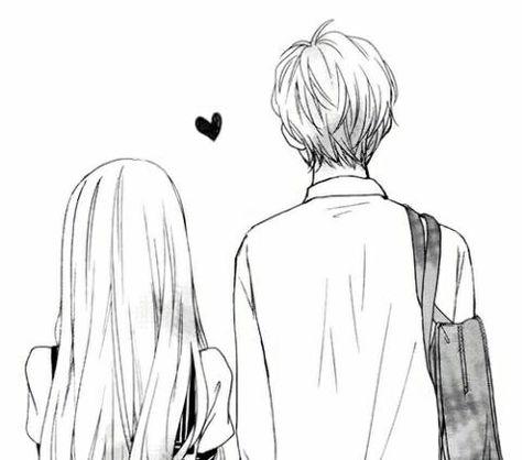 Pin De ǝʌolɐʞnɥsnɥs Em Anime Casais Manga De