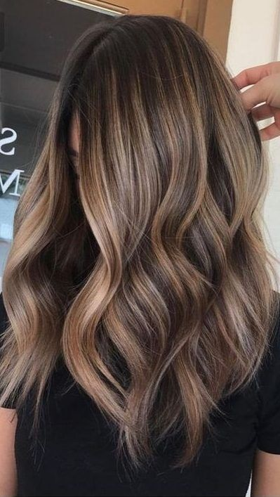 35 Hottest Fall Hair Colour Ideas For All Hair Types 2019 Fall Hair Colour Autumn Flower Type Hair Colo Balayage Hair Short Hair Balayage Hair Color Balayage