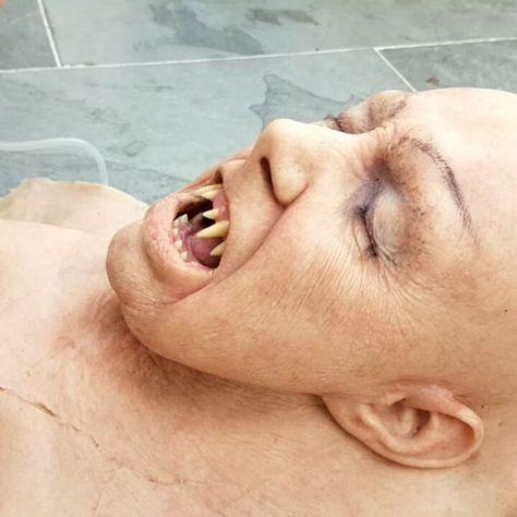 Stuart Bray Rob Smith And A Rather Fun Werewolf Gag Head