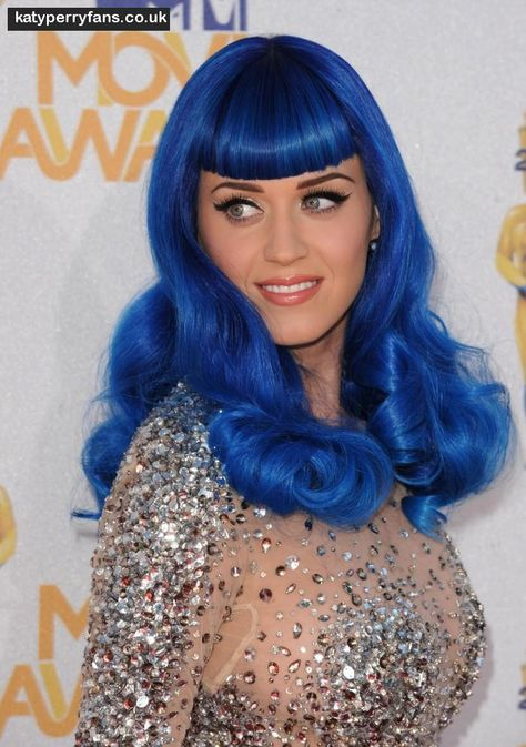 Katy Perry Blue Wig Created By Marcy At Hairroin Salon In