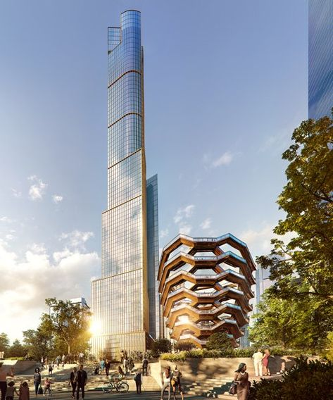35 hudson yards: SOM plans development's tallest residential tower