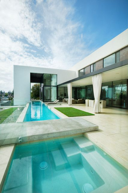Inside Outside House Modern House Design Architecture House Design