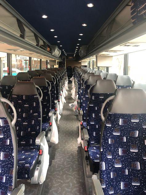 Coach Bus Interior Long Island, NY