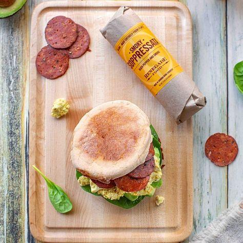 Plant-Based Smoky Salami Soppressata 3-Pack