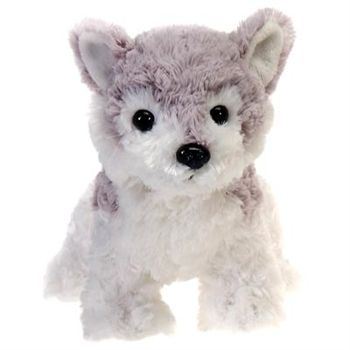 Lil' Kushy the Plush Husky 9 Inch Stuffed Dog by Fiesta will be the best little watch dog that your child will ever have. Our fiesty plush husky measures 9 inches in size and features breed accurate markings and an endearing face that will melt