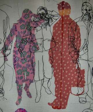 Photographs, Illustration, Embroidery, Inspiration, Final Major, Project, Fashion, Student