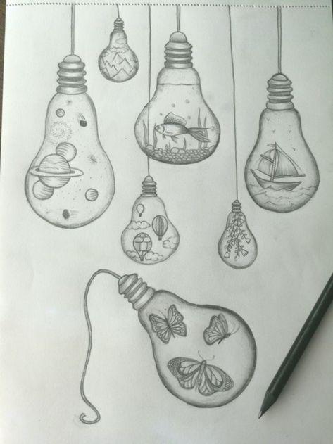 #drawings #glühbirne #tekenen #zeichnungen