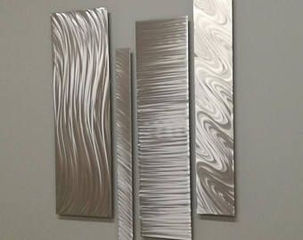 Metal Wall Art Modern Metal Art Indoor Outdoor Art Abstract