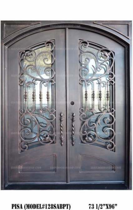 Super Glass Door Balcony Wrought Iron 26 Ideas Double Door Design Wrought Iron Doors Door Design