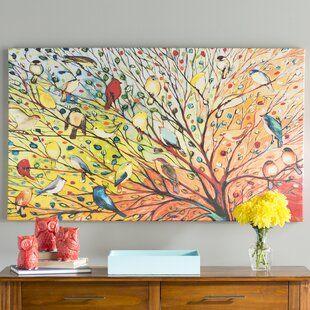Great Big Canvas Sunny Abundance Ii By Shirley Novak Painting Print Wayfair Ca In 2020 Painting Birds Painting Canvas Wall Art