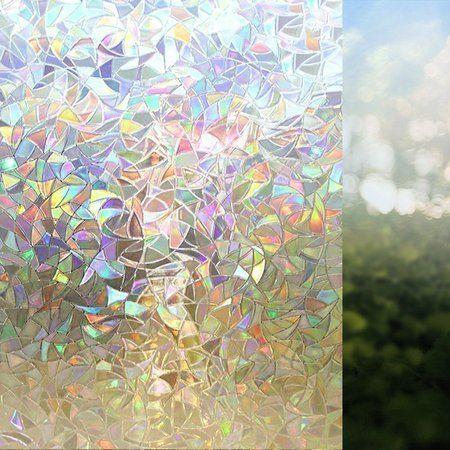 Premium Kein Kleber 3d Static Decorative Frosted Privacy Fensterfolien Fur Glas Sichtschutz Fensterfolie Fensterfolie Sichtschutz Fenster Privatsphare