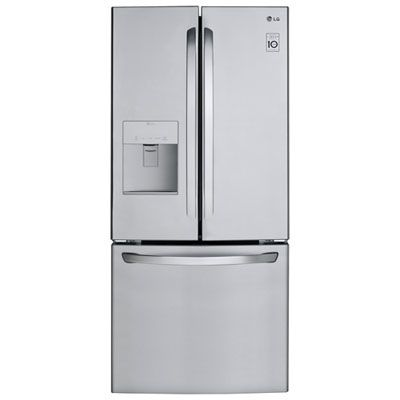 Lg 30 21 8 Cu Ft French Door Refrigerator With Water Dispenser