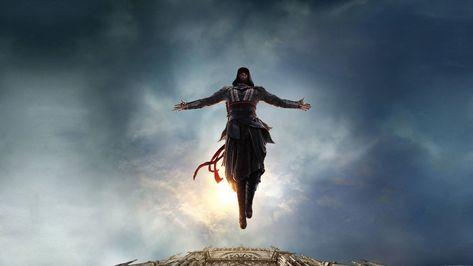 HD wallpaper: Assassin's Creed digital wallpaper, movies, sky, cloud - sky